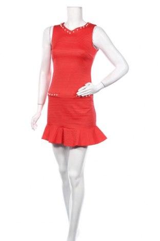 Φόρεμα Rinascimento, Μέγεθος XS, Χρώμα Κόκκινο, 62% βαμβάκι, 35% πολυεστέρας, 3% ελαστάνη, Τιμή 9,22€