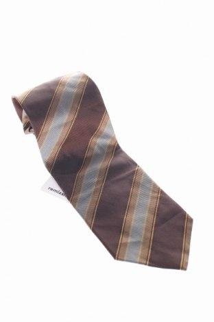 krawat Armani Collezioni, Kolor Brązowy, 100% jedwab, Cena 32,40zł