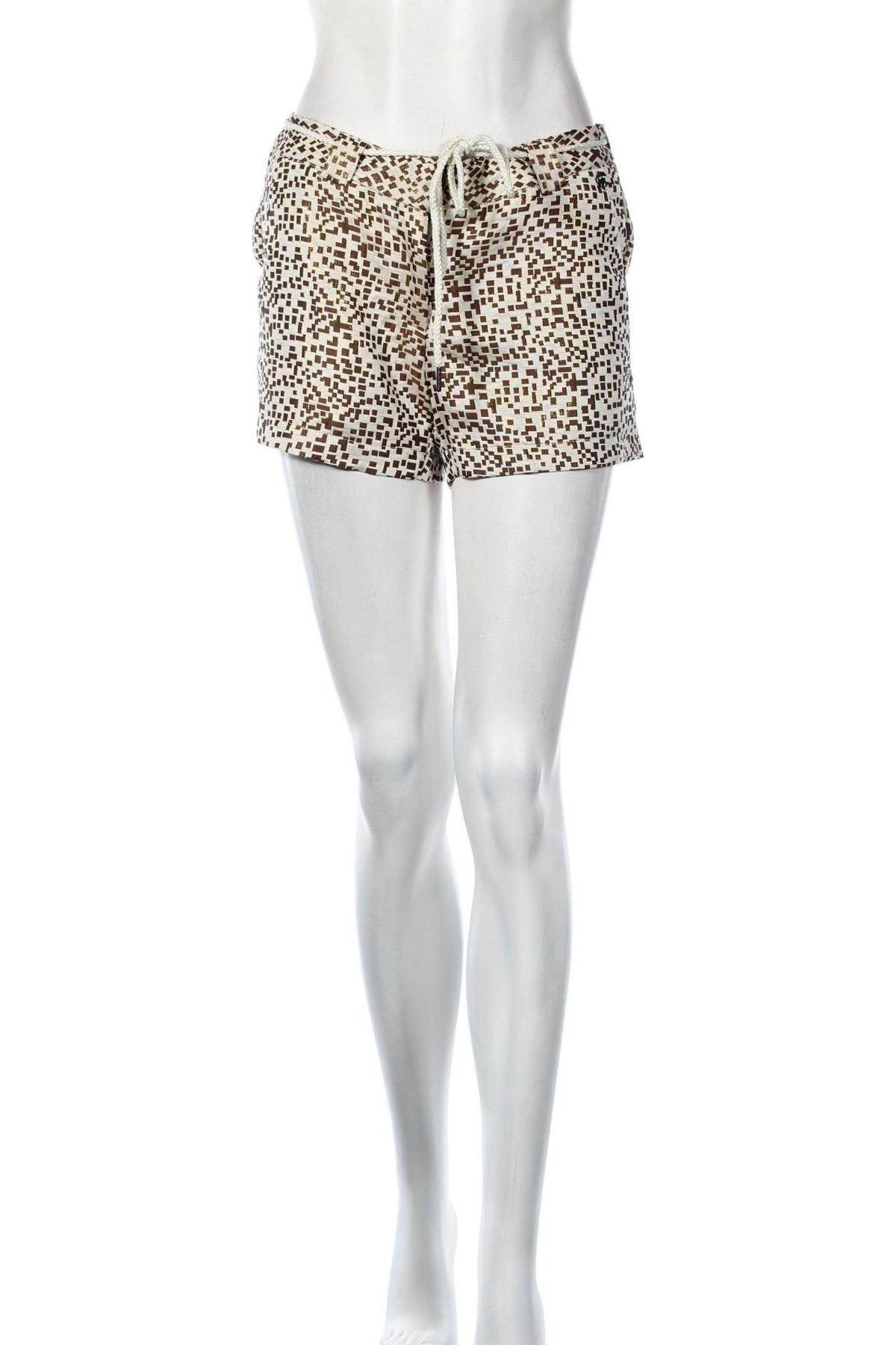Дамски къс панталон Chattawak, Размер S, Цвят Бял, 90% полиестер, 10% метални нишки, Цена 36,75лв.