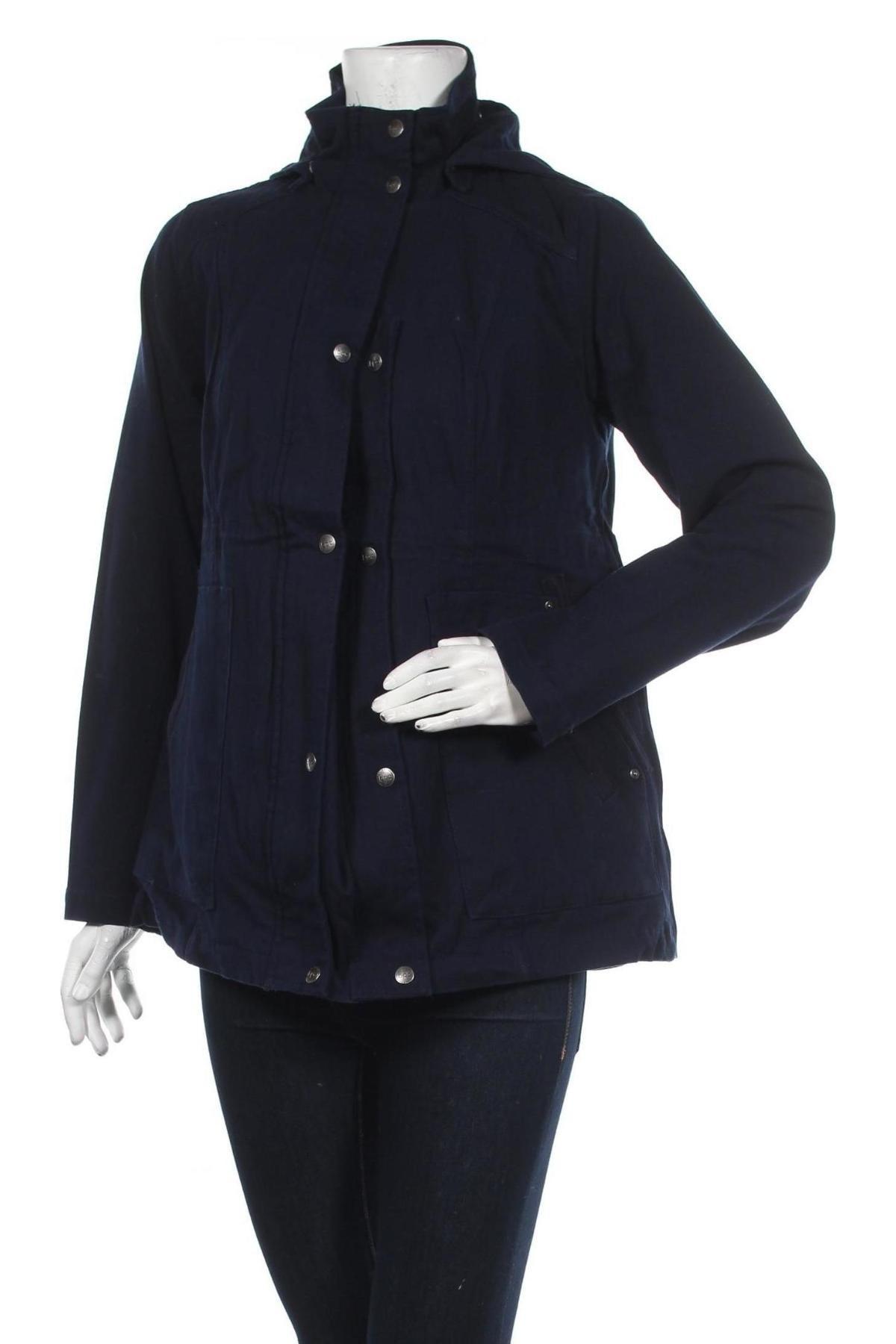Дамско яке Bpc Bonprix Collection, Размер XL, Цвят Син, 97% памук, 3% еластан, Цена 25,76лв.