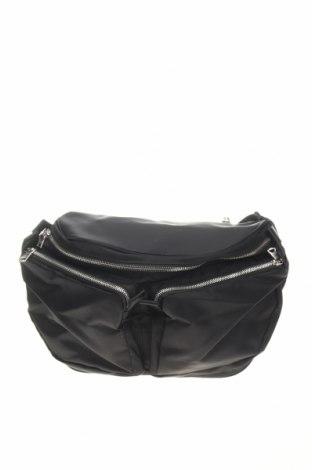 Geantă de brâu Sandro, Culoare Negru, Textil, Preț 396,21 Lei