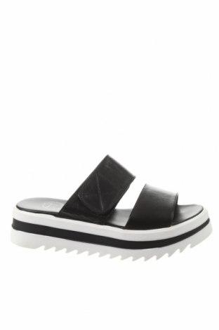 Papuci, Mărime 39, Culoare Negru, Piele naturală, Preț 194,90 Lei