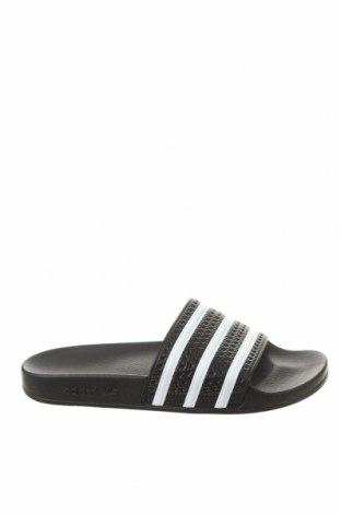 Чехли Adidas Originals, Размер 43, Цвят Черен, Естествена кожа, Цена 44,25лв.