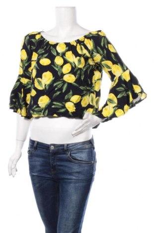 Дамска блуза Apricot, Размер S, Цвят Син, Вискоза, Цена 18,95лв.