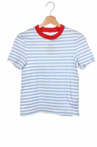 Дамска блуза COS, Размер XS, Цвят Син, Памук, Цена 27,30лв.
