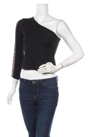 Дамска блуза Elsa, Размер S, Цвят Черен, 80% вискоза, 20% полиамид, Цена 5,86лв.