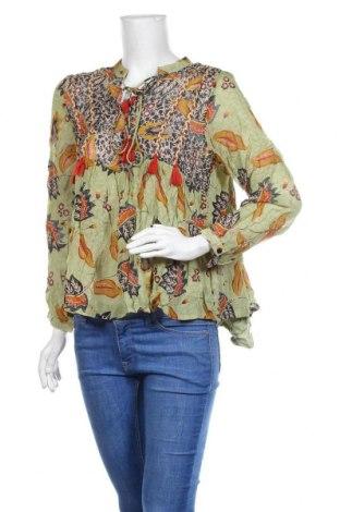 Дамска блуза Peace + Love, Размер L, Цвят Многоцветен, Вискоза, Цена 40,50лв.