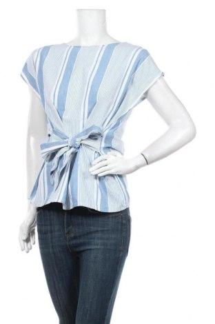 Bluză de femei Vero Moda, Mărime M, Culoare Albastru, 100% bumbac, Preț 78,95 Lei