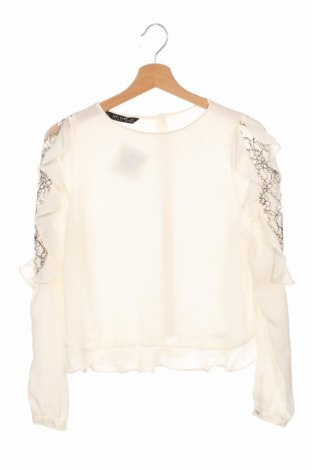 Дамска блуза Zara, Размер XS, Цвят Бял, Цена 20,40лв.