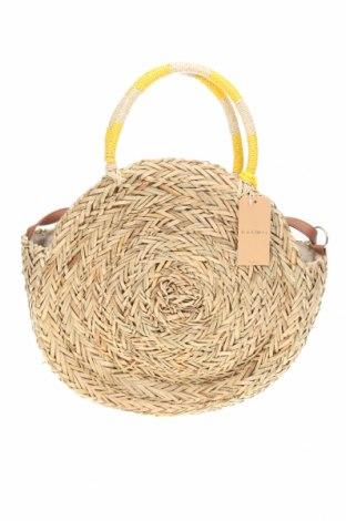 Γυναικεία τσάντα, Χρώμα  Μπέζ, Άλλα υλικά, Τιμή 11,06€