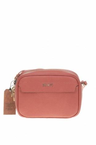 Дамска чанта Beverly Hills Polo Club, Цвят Кафяв, Еко кожа, Цена 66,75лв.