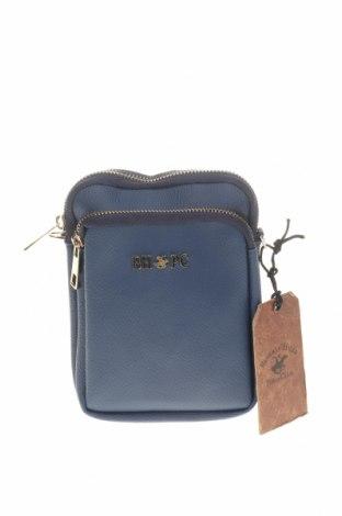Damska torebka Beverly Hills Polo Club, Kolor Niebieski, Eko skóra, Cena 78,18zł