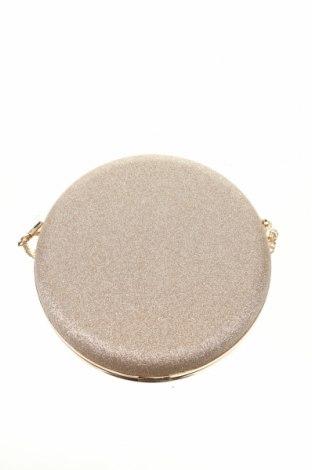 Geantă de femei Hallhuber, Culoare Auriu, Textil, Preț 135,86 Lei