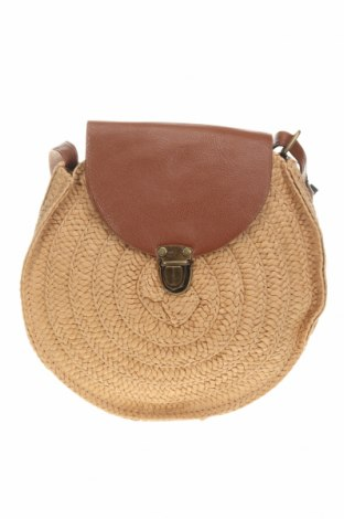 Дамска чанта Irl, Цвят Бежов, Други материали, еко кожа, Цена 44,25лв.