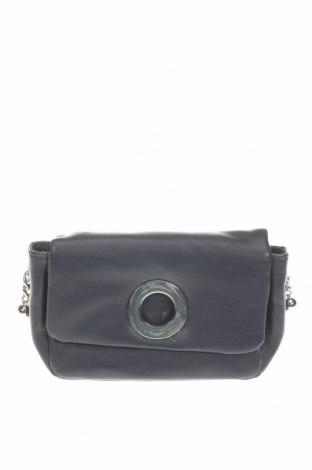 Γυναικεία τσάντα Mango, Χρώμα Μπλέ, Δερματίνη, μέταλλο, Τιμή 19,56€