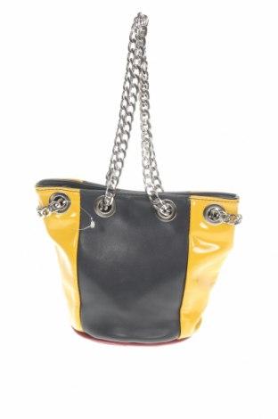 Γυναικεία τσάντα Moa, Χρώμα Πολύχρωμο, Δερματίνη, μέταλλο, Τιμή 13,61€
