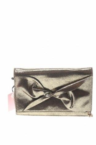 Γυναικεία τσάντα Naf Naf, Χρώμα Χρυσαφί, Κλωστοϋφαντουργικά προϊόντα, Τιμή 25,23€