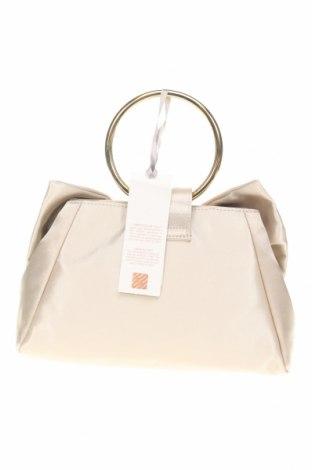 Дамска чанта Rinascimento, Цвят Бежов, Текстил, Цена 97,30лв.