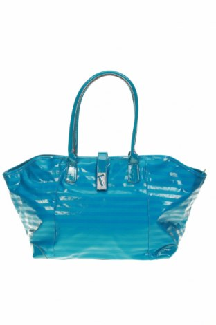 Дамска чанта Texier, Цвят Син, Еко кожа, Цена 99,50лв.