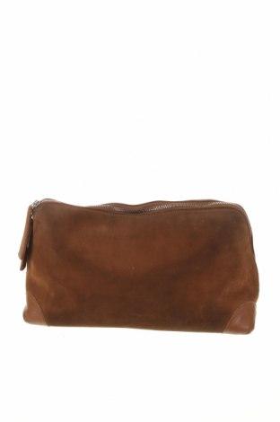 Дамска чанта Unutzer, Цвят Кафяв, Естествена кожа, Цена 223,50лв.
