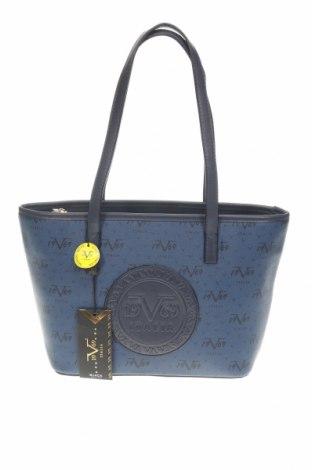 Дамска чанта V 1969 Italia, Цвят Син, Еко кожа, Цена 142,57лв.
