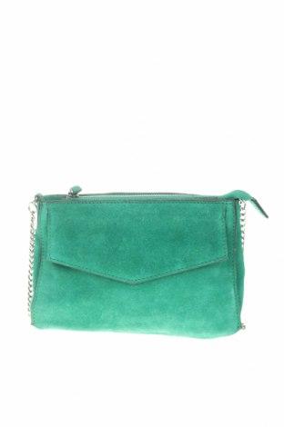 Dámská kabelka  Zara, Barva Zelená, Přírodní velur , Cena  694,00Kč