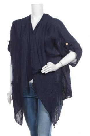 Cardigan de damă, Mărime M, Culoare Albastru, 100% in, Preț 157,90 Lei
