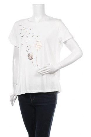 Tricou de femei Vero Moda, Mărime XL, Culoare Alb, Bumbac, Preț 61,51 Lei