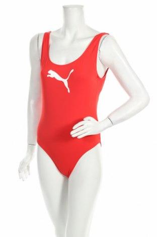 Dámské plavky  PUMA, Velikost L, Barva Červená, 80% polyamide, 20% elastan, Cena  645,00Kč