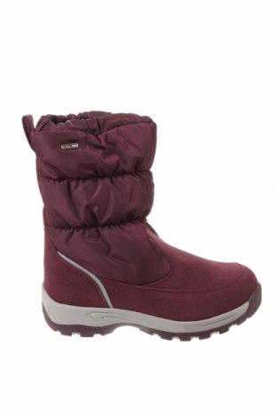 Dámské boty  Reima, Velikost 38, Barva Fialová, Přírodní velur , textile , Cena  1000,00Kč