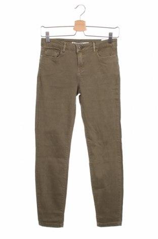 Дамски дънки Lft, Размер S, Цвят Зелен, 98% памук, 2% еластан, Цена 28,32лв.