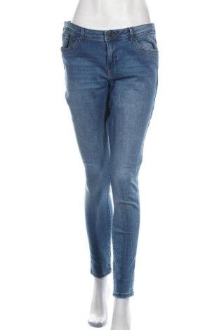 Blugi de femei Vero Moda, Mărime L, Culoare Albastru, 69% bumbac, 25% poliester, 3% elastan, 3% viscoză, Preț 94,08 Lei