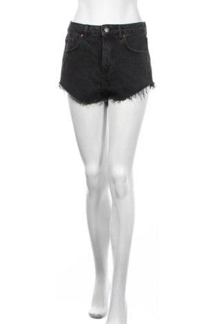 Дамски къс панталон Topshop Moto, Размер M, Цвят Черен, Цена 17,64лв.