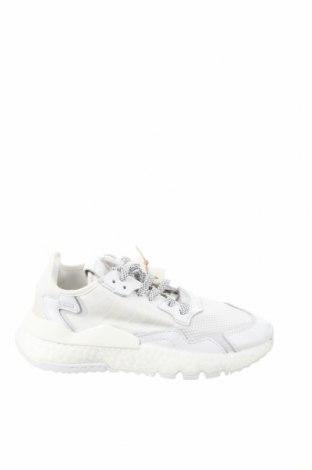 Încălțăminte de damă Adidas Originals, Mărime 37, Culoare Alb, Textil, piele naturală, Preț 404,11 Lei