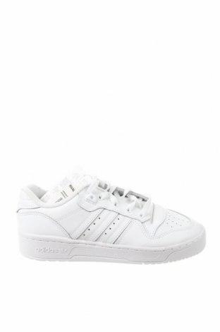Γυναικεία παπούτσια Adidas Originals, Μέγεθος 38, Χρώμα Λευκό, Γνήσιο δέρμα, δερματίνη, Τιμή 37,02€