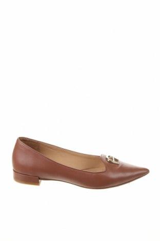 Γυναικεία παπούτσια Aigner, Μέγεθος 39, Χρώμα Καφέ, Γνήσιο δέρμα, Τιμή 72,25€