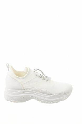 Дамски обувки Madden Girl, Размер 39, Цвят Бял, Еко кожа, текстил, Цена 71,60лв.