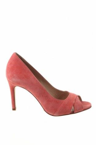 Încălțăminte de damă San Marina, Mărime 39, Culoare Roz, Velur natural, Preț 318,26 Lei