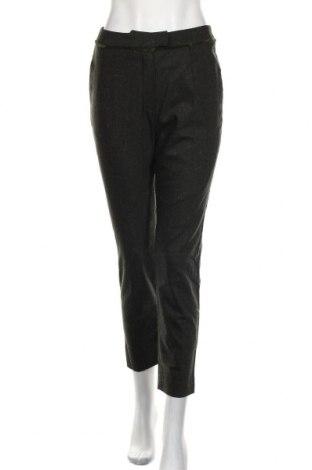 Дамски панталон Cacharel, Размер S, Цвят Зелен, 98% вълна, 2% еластан, Цена 167,27лв.