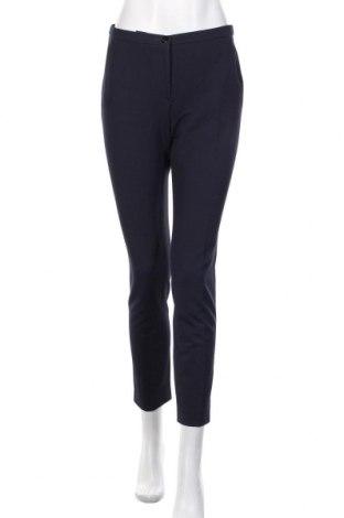 Pantaloni de femei Emporio Armani, Mărime M, Culoare Albastru, Preț 250,66 Lei