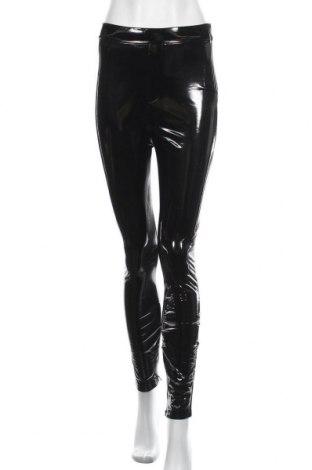 Pantaloni de femei Zara, Mărime S, Culoare Negru, Poliuretan, Preț 97,04 Lei