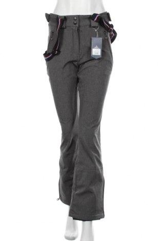 Dámské kalhoty pro zimní sporty  Peak Mountain, Velikost S, Barva Šedá, 94% polyester, 6% elastan, Cena  1529,00Kč