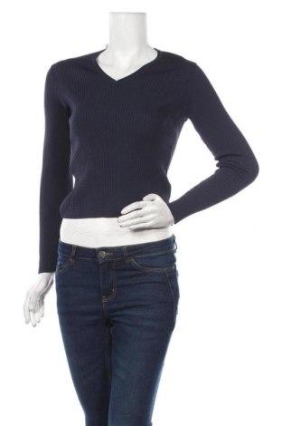 Дамски пуловер Carin Wester, Размер S, Цвят Син, 50% полиамид, 50% вискоза, Цена 12,71лв.