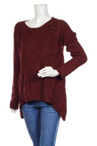 Дамски пуловер A.N.A., Размер L, Цвят Червен, Акрил, Цена 20,58лв.