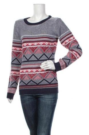 Дамски пуловер Ajc, Размер S, Цвят Многоцветен, 48% памук, 48% полиакрил, 4% метални нишки, Цена 31,05лв.