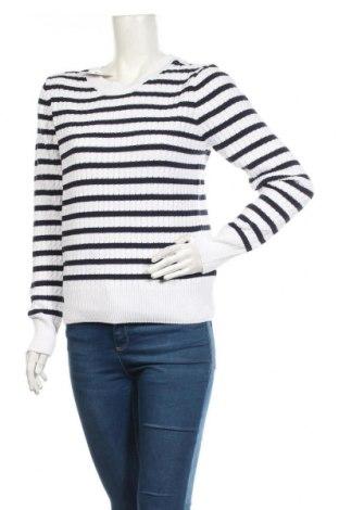 Дамски пуловер Aniston, Размер M, Цвят Бял, Памук, Цена 25,20лв.