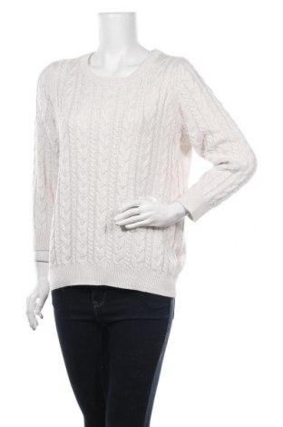 Pulover de femei H&M, Mărime L, Culoare Ecru, 45% poliamidă, 27%acril, 20% viscoză, 8% lână de alpaca, Preț 51,40 Lei