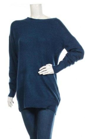 Pulover de femei Vero Moda, Mărime XS, Culoare Albastru, 76%acril, 21% poliamidă, 3% elastan, Preț 141,68 Lei