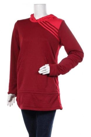 Дамски суичър Adidas, Размер L, Цвят Червен, Полиестер, Цена 40,50лв.