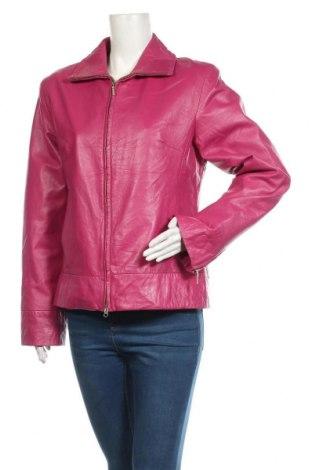 Дамско кожено яке Arma, Размер L, Цвят Розов, Естествена кожа, Цена 137,97лв.